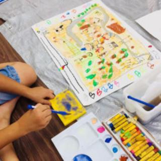 アトリエCCO絵画教室 年長さんから入会できる「こども教室」から...
