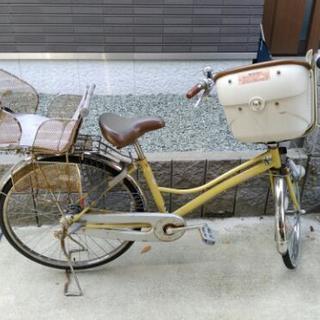 26インチ 変速機付3人乗り自転車(イオンで購入)