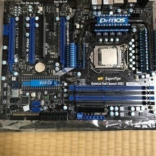マザーボード CPU ファンのセット