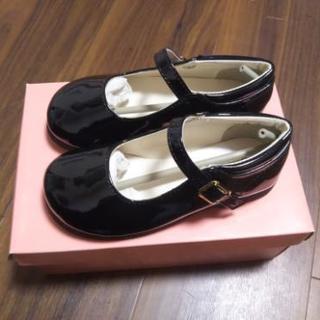 【値下げ】子ども用フォーマル靴 17.0㎝