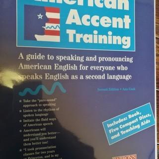 【洋書】発音の練習に!American Accent Training