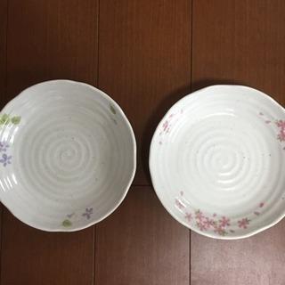 竹下夢二 お皿 2枚セット