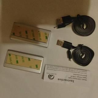 お値引きOK!LEDセンサーライト人感センサーライト  4LED...