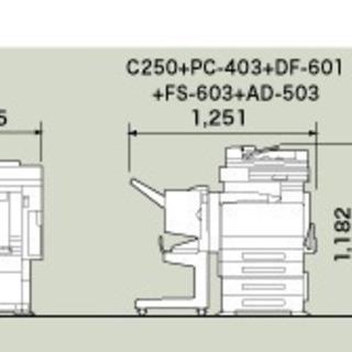 サンヨ-カラ-コピ-機 SFT-C-250 高速大量印刷可能