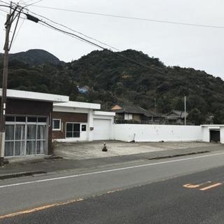 値下げ☆田舎暮らし☆鹿児島県垂水市☆ロードサイド店舗付住宅