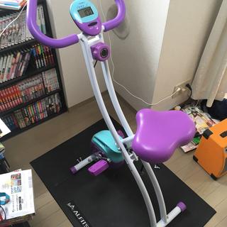 IGNIO フィットネスバイク IG-FB002L マット付き