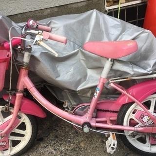 キティーちゃん、自転車
