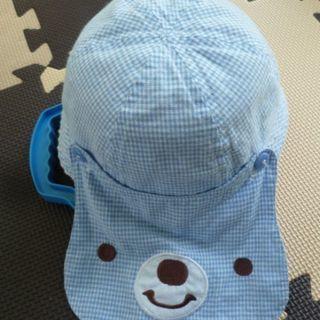 ベビー用のクマさん帽子