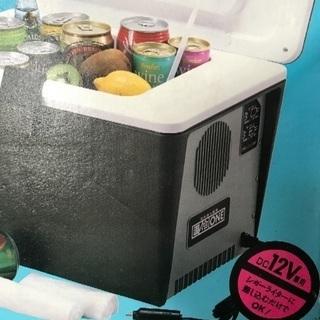 車で使える温冷蔵庫の画像