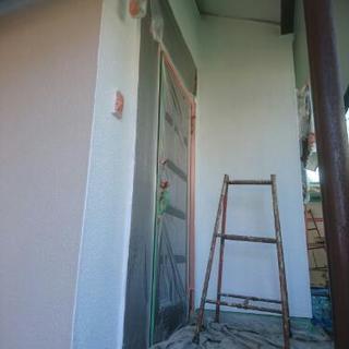 安心塗装工事承ります。