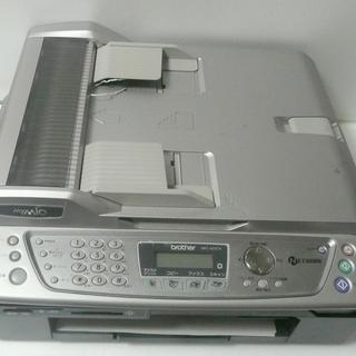 ジャンク【FAX付複合機】ブラザー MFC-425CN スペアインクあり