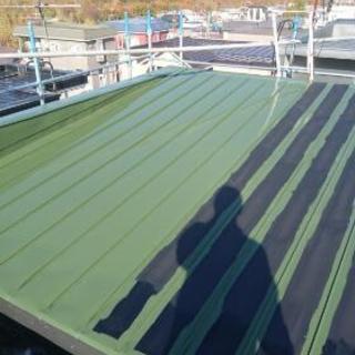 夏の屋根塗装工事〜