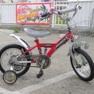 子供用 自転車 三輪 16インチ アサヒ DUALLY 赤 サイクル