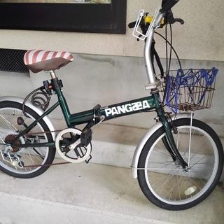 【交渉中】折りたたみ自転車(SHIMANO製6段ギア)