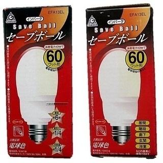 60W型電球☆EFA13EL