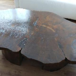 一枚板テーブル 北海道内取引可能