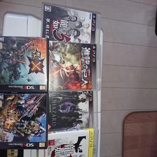 ゲーム6本のまとめ売りです。