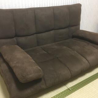 二人掛けローソファー 、ソファーベッド