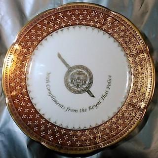 タイ王国 国家警察庁 絵皿