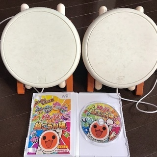 wii 太鼓の達人 タタコン2個セット