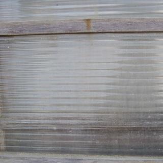 ガラス レトロ 昔の引き戸