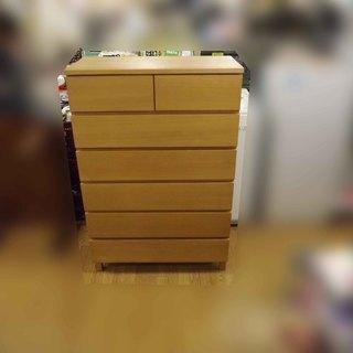 無印良品 良品計画 6段チェスト タモ材 衣類収納 札幌 ...