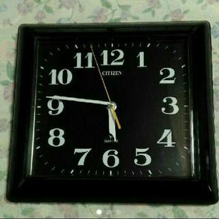 CITIZEN QUARTZ 掛け時計