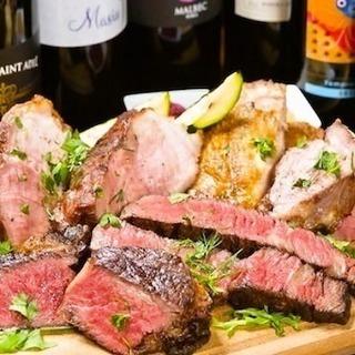 BBQなどイベントもあり♪塊肉の炭火焼で人気◎ニューヨークスタイ...