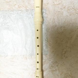 アルトリコーダー 白 バロック式
