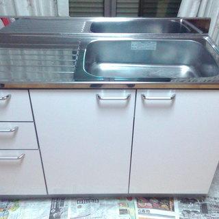 家庭用のキッチン台 1200×550×850