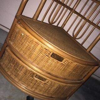籐の飾り棚 - 仙台市