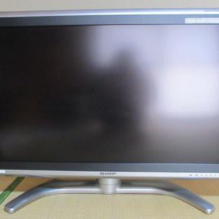 シャープ 37V型 液晶 地デジテレビ AQUOS LC-…