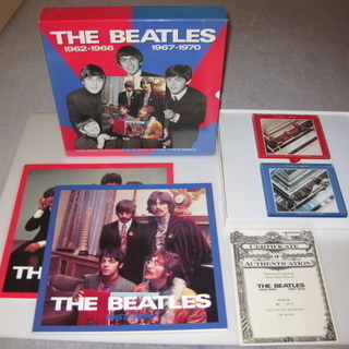 ビートルズ 限定CD収納ボックス