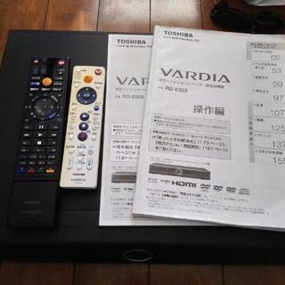 【 取引中】東芝DVDレコーダー RD-E303