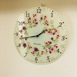 アフタヌーンティー 壁掛け時計