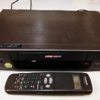 Panasonic VHSビデオデッキ NV-H100