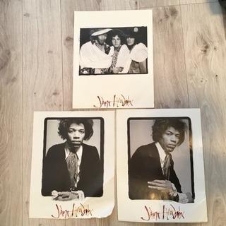 ジミヘン ヴィンテージポスター3枚セット