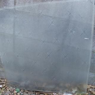 窓 ガラス レトロ 星 雪