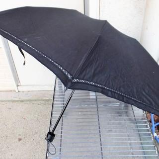 シンプルで上品な日傘 ブラック シミや老化を防ぐ 熱中症対策◆日...