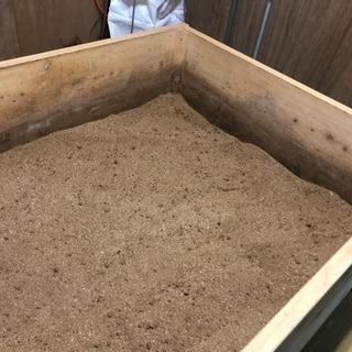 米ぬか ひのき発酵済堆肥 無料