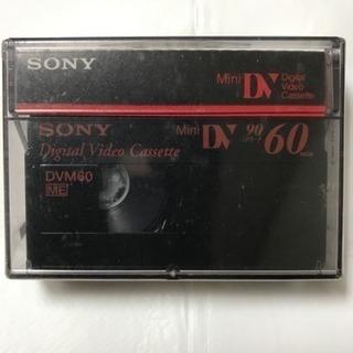 SONYミニDVカセット ビデオカメラ用デジタルテープ 60分