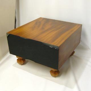 札幌 囲碁 碁盤 厚さ:約17.5cm/5.7寸 19路盤 白石
