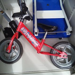 【訳あり・熟考下さい】幼児用バランスバイク差し上げます
