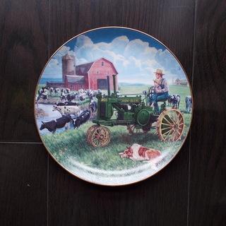 ジョンディア JOHN DEERE 飾り絵皿限定品 新品