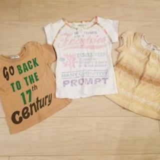 サイズ80-90 半袖シャツ