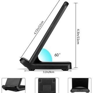 最新モデル 10W 急速 ワイヤレス 充電器 - 奈良市