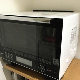 東芝過熱水蒸気オーブンレンジ「石窯ドーム」ER-PD3000(W)
