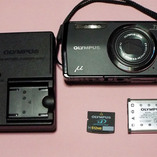 OLYMPUS デジタルカメラ u-7000 充電器+カード付き
