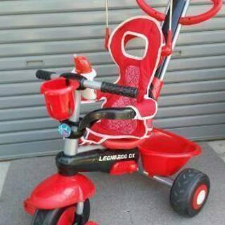 三輪車 シェード・おもちゃ付き