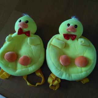 ひよこリュック2個セット 幼児用